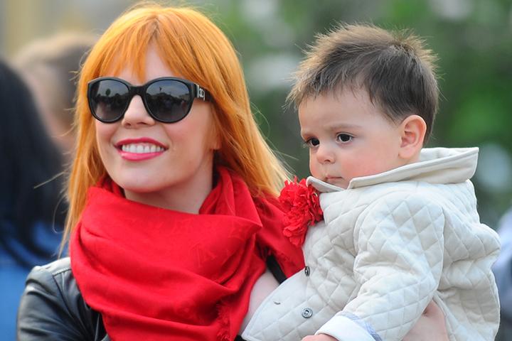 стоцкая и её сын фото
