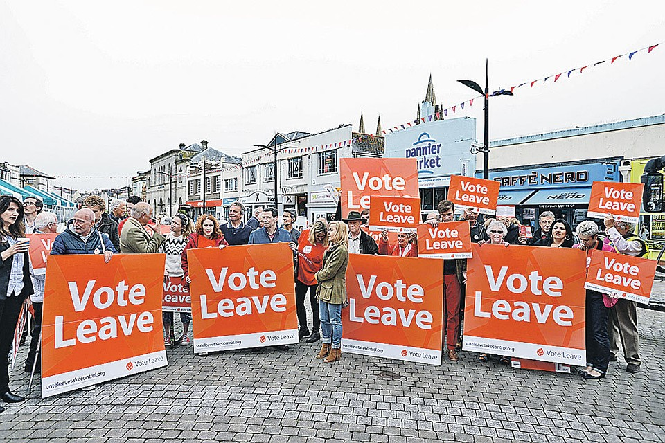 Жизнь населения улучшится после выхода из европейского союза — Британский депутат