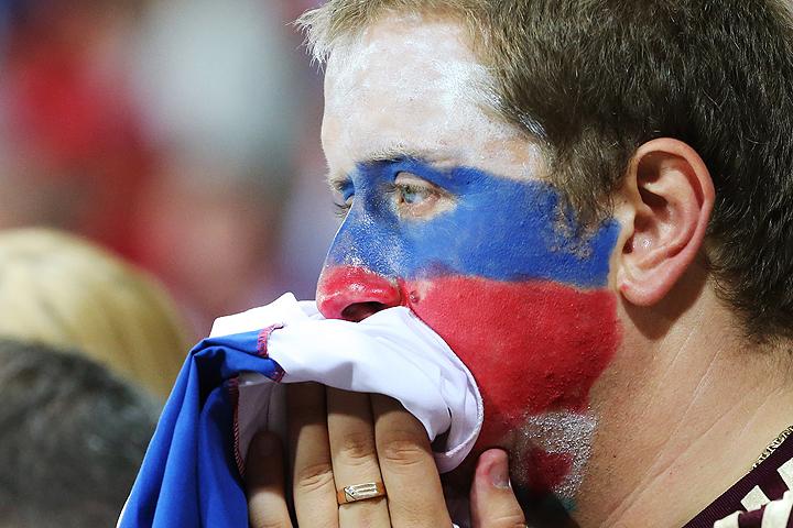 Для выхода в плей-офф турнира сборной России достаточно было занять третье место, но даже эта задача не была выполнена. ФОТО Александр Демьянчук/ТАСС