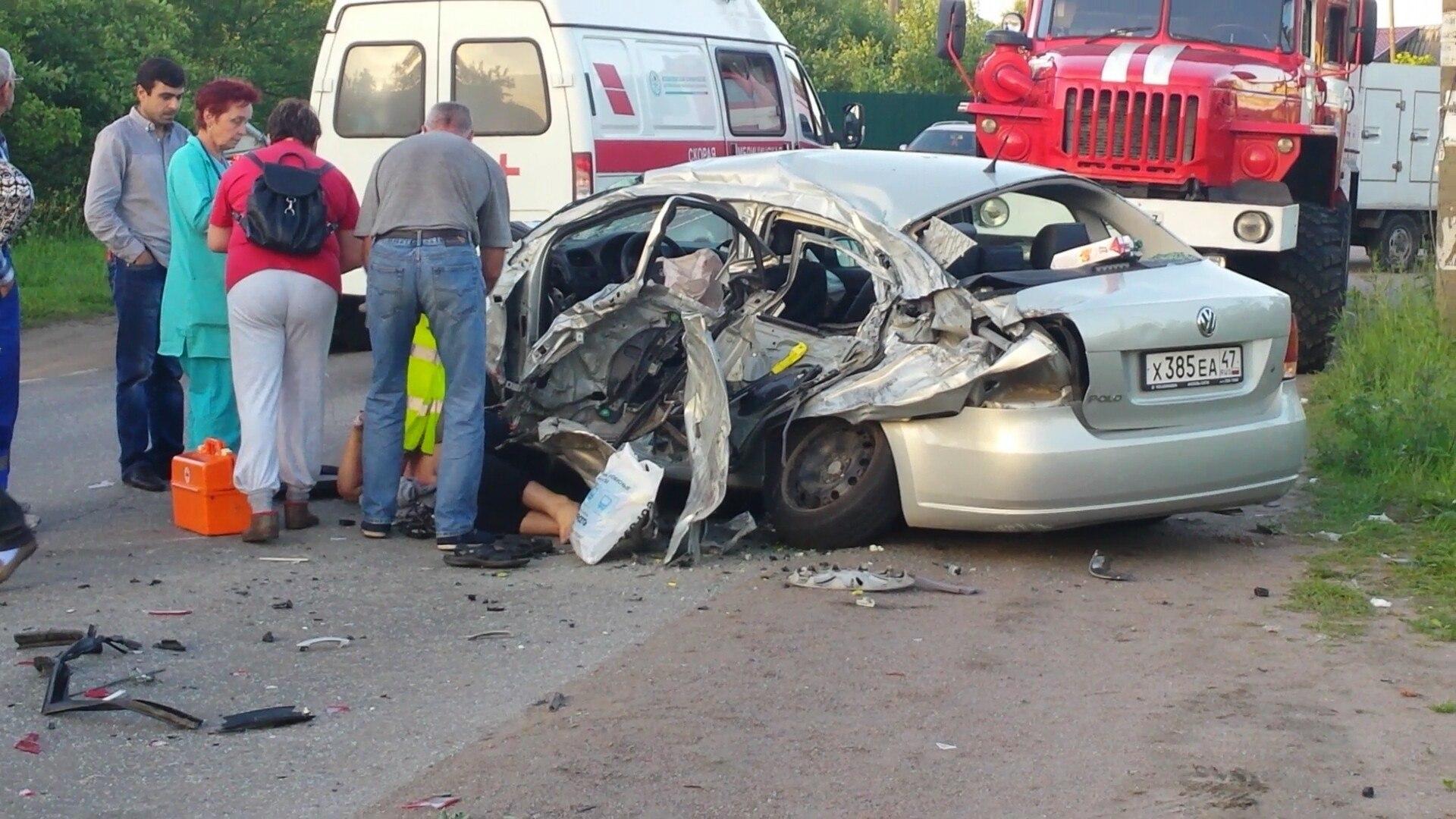 Страшная авария в Щеглово Фото: ДТП и ЧП (Вконтакте)
