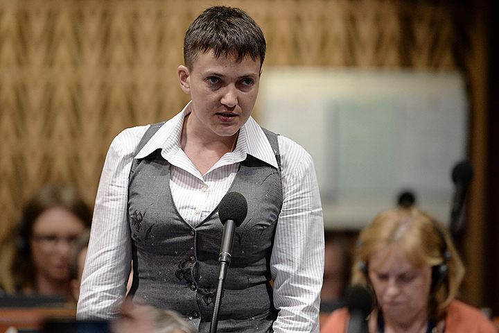 Надежда Савченко продолжает удивлять своими выступлениями в ПАСЕ