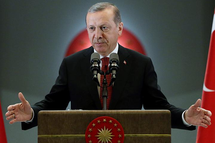 B письме турецкого президента содержатся слова сожаления и именно слово «извините»
