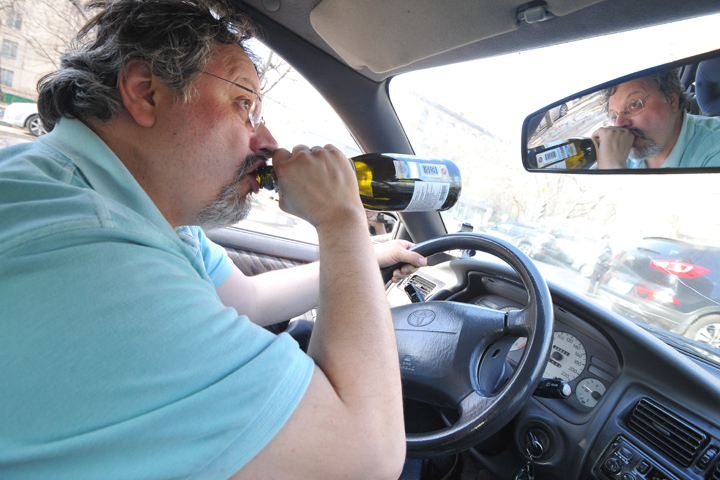 Завыходные полицейские словили  64 нетрезвых  водителя