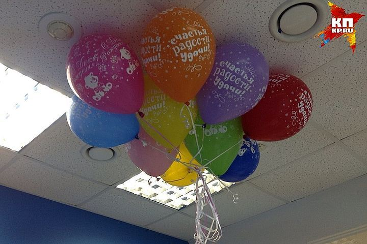 Измашины петербурженки украли три тысячи воздушных шаров