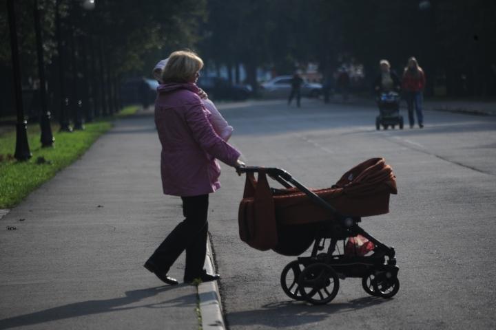 ВЛадушкине «Фольксваген» при движении задним ходом сбил коляску с малышом