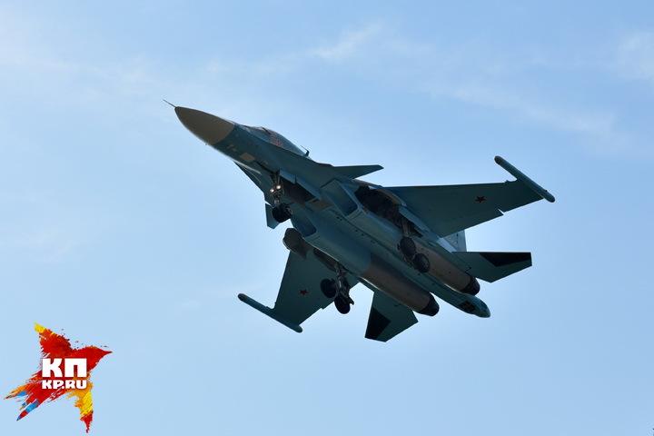 МинобороныРФ получило еще одну партию бомбардировщиков Су-34