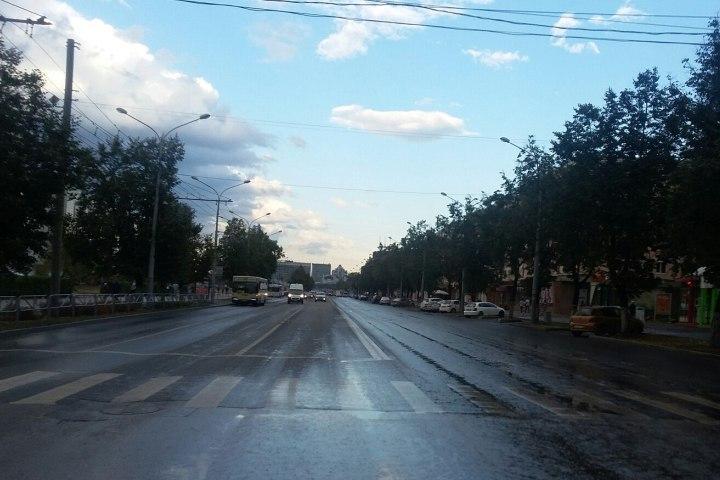 Завтра вПерми будет ограничено движение вдоль улицы Ленина