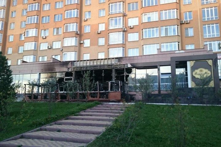 Ресторан «Вишнёвый сад» вКемерове подожгли специально