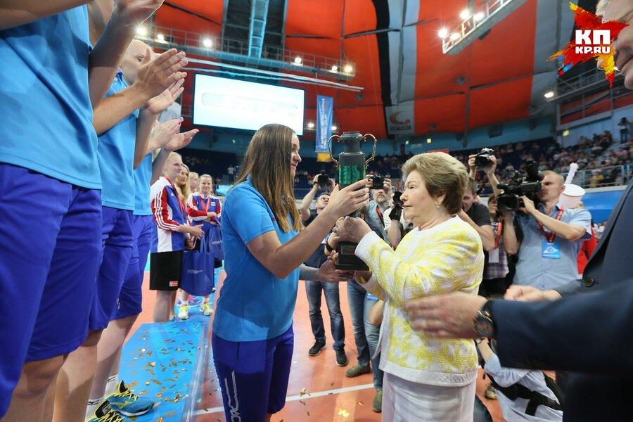 Сборная Российской Федерации стартовала наКубке Ельцина-2016 спобеды над Турцией