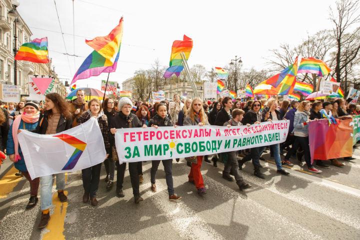 Смольный запретил проводить гей-парад наНевском проспекте