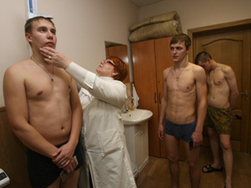 Порно медосмотр в армию русский 179