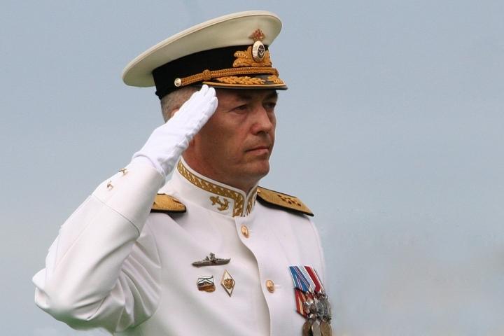 Вице-адмирал Носатов возглавил Балтийский флот