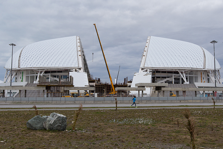 Стадион вСочи будет сдан вэксплуатацию 30ноября