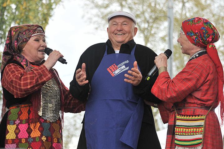 Юрий Лужков подчеркнул юбилей вприсутствии около 300 человек