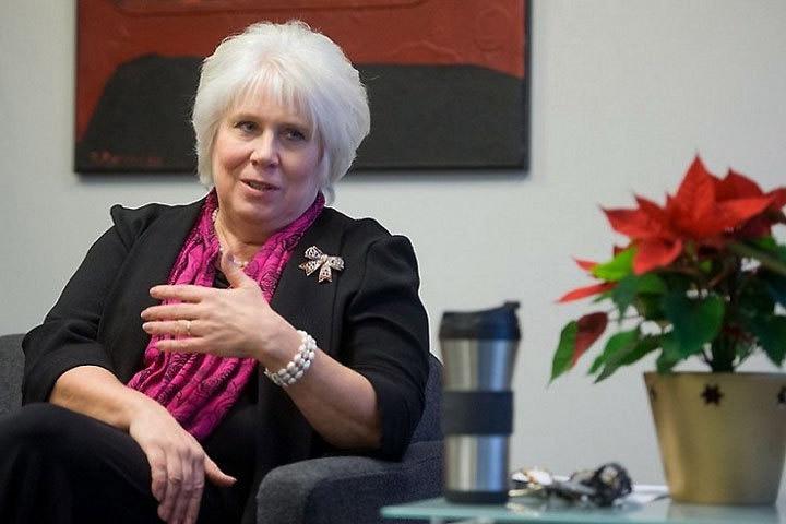 Экс-глава МИД Эстонии Марина Кальюранд. Фото: с сайта 163gorod.ru