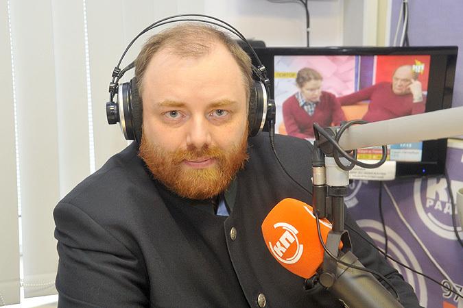Егор Холмогоров в эфире Радио «Комсомольская правда»