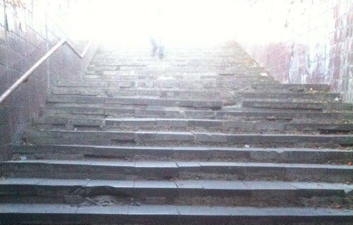 Состояние подземных переходов в Кишиневе оставляет желать лучшего
