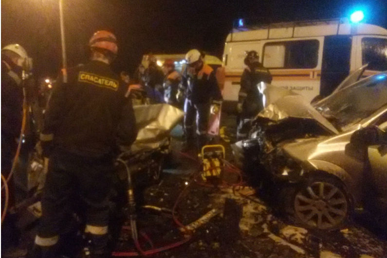 Три человека погибли вДТП вЯрославле