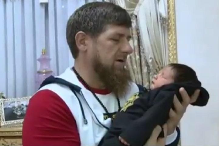 Рамзан Кадыров и малыш Усман