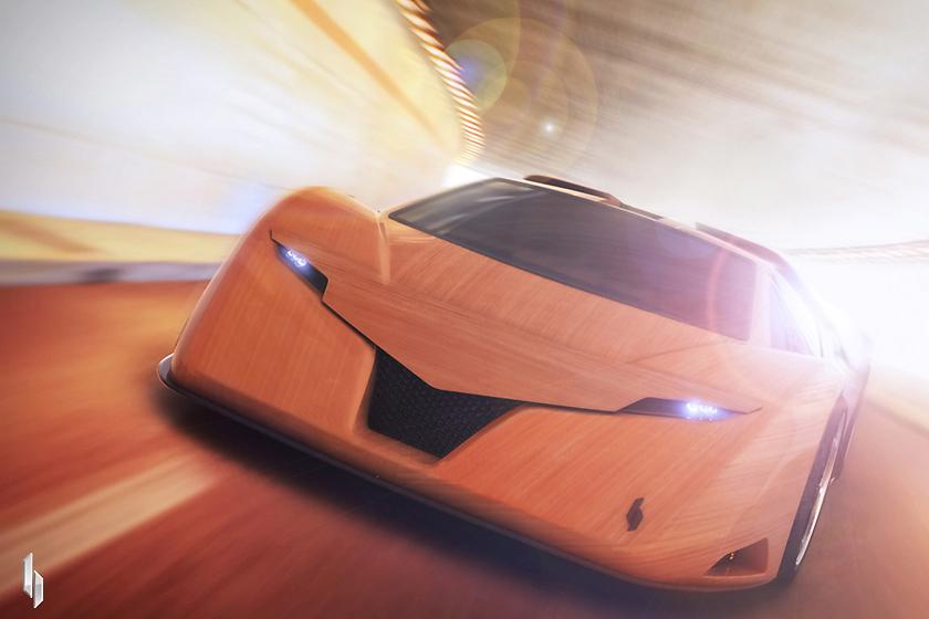 Машина называется Splinter. «Щепка» или «Заноза», если по-нашему.