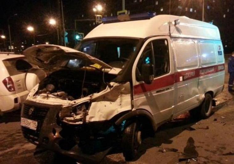 Бригада «скорой помощи» пострадала вДТП вНижнем Тагиле
