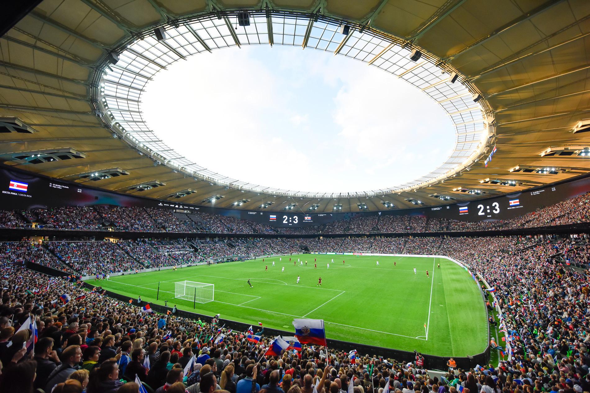 УЕФА разрешилФК «Краснодар» проводить домашние матчи Лиги Европы нановом стадионе