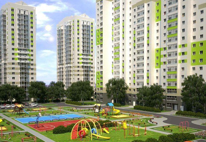 ВКазани построили первые дома жилого комплекса на17 тыс. человек