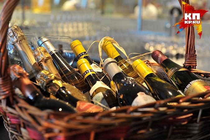 Виноград ишампанское упали вцене вНовосибирской области