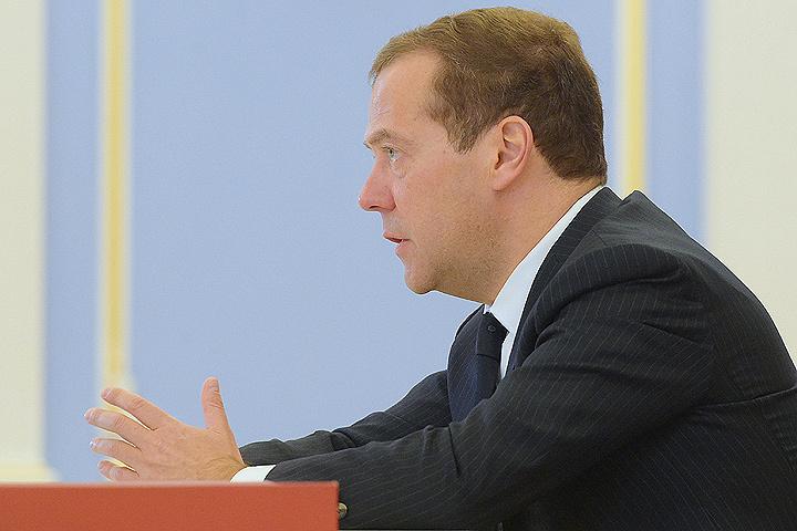 Премьер-министр РФ Дмитрий Медведев. ФОТО Александр Астафьев/пресс-служба правительства РФ/ТАСС