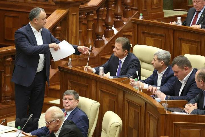 Инициатива ПСРМ о рассмотрении вотума недоверия правительству была отклонена спикером законодательного органа Андрианом Канду
