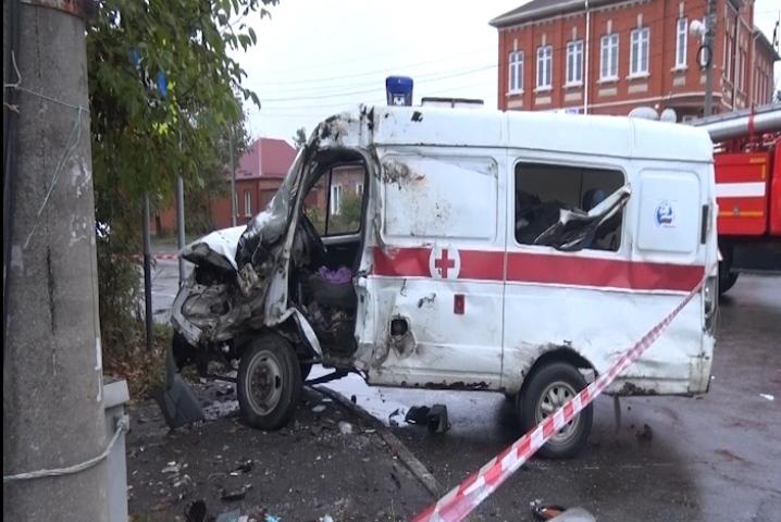 Смертельное ДТП со«скорой» случилось воВладикавказе