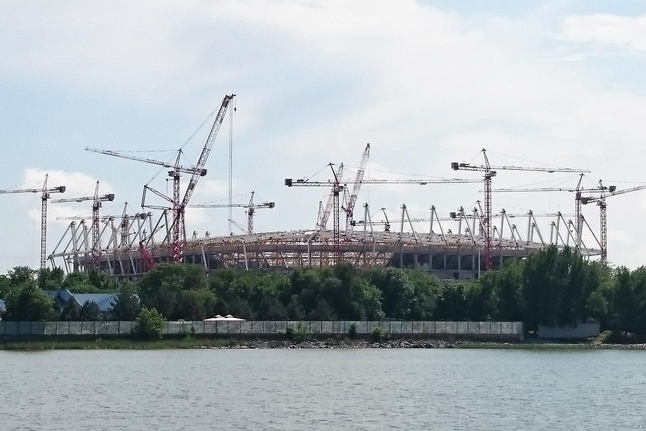 Благоустройство территории вокруг «Ростов-Арены» начнется весной 2017 года
