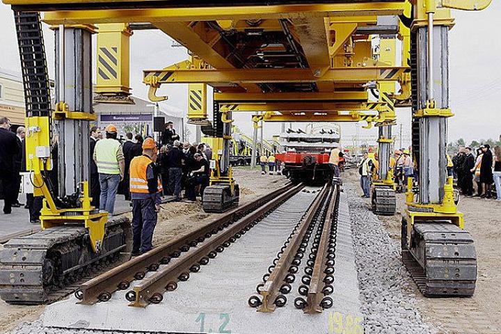 Проект строительства железной дороги Rail Baltica является самым масштабным в истории стран Балтии и Финляндии. Фото: с сайта wikimedia.org