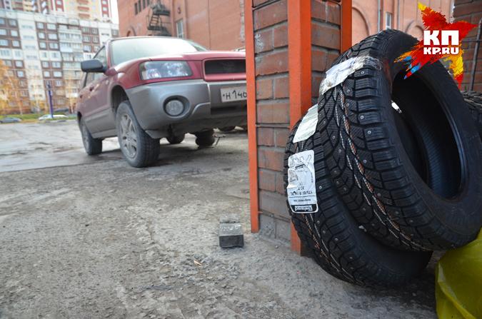 Нетрезвый шиномонтажник угнал машину изсервиса