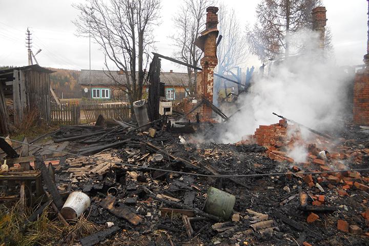 Мужчина умер впроцессе пожара из-за курения дома