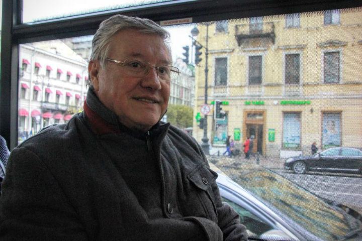 Геннадий Орлов прокатился на троллейбусе №5
