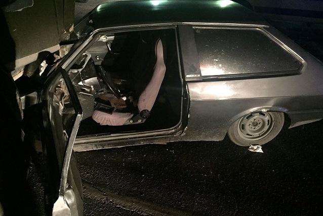 При столкновении с«КамАЗом» вКропоткине пострадал нетрезвый шофёр «ВАЗа»