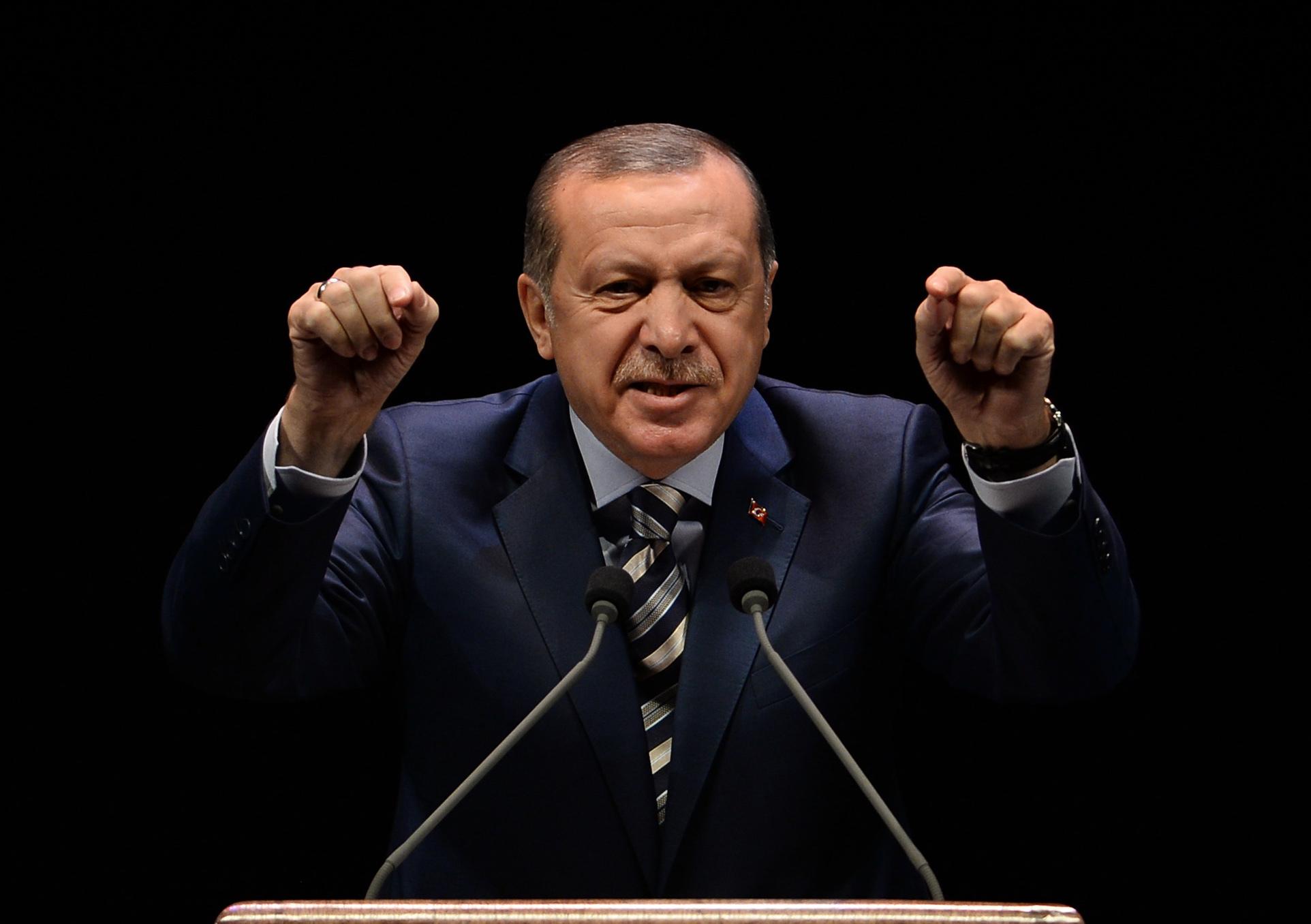Эрдоган предложил парламенту рассмотреть вопрос овведении смертельной казни вТурции