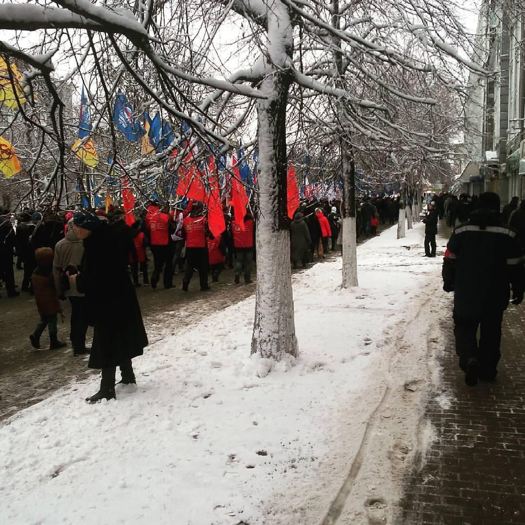 10 тыс. ульяновцев сегодня приняли участие шествии вчесть Дня народного единства