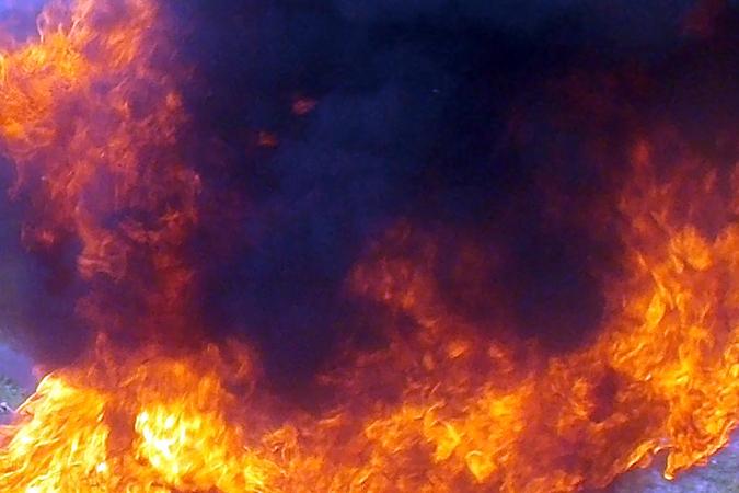 Изгорящей квартиры напроспекте Солидарности спасли мужчину