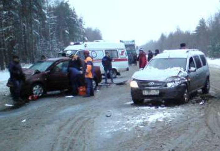 4 автомобиля столкнулись вРостовском районе Ярославской области
