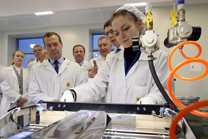 Российско-европейскоеСП представило в столице России образцы космической микроэлектроники