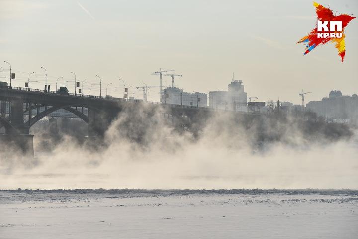 В этом году морозы пришли в Новосибирск рано.