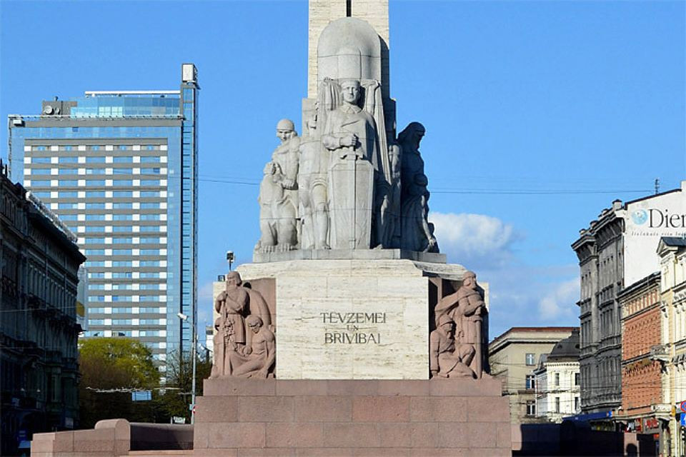 Памятник Свободы - единственный застрахованный памятник в Латвии.