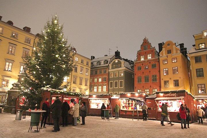 Рождество в Швеции. Фото: с сайта wiki-turizm.ru