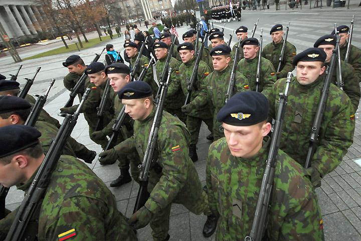 Литовская армия во всей красе.