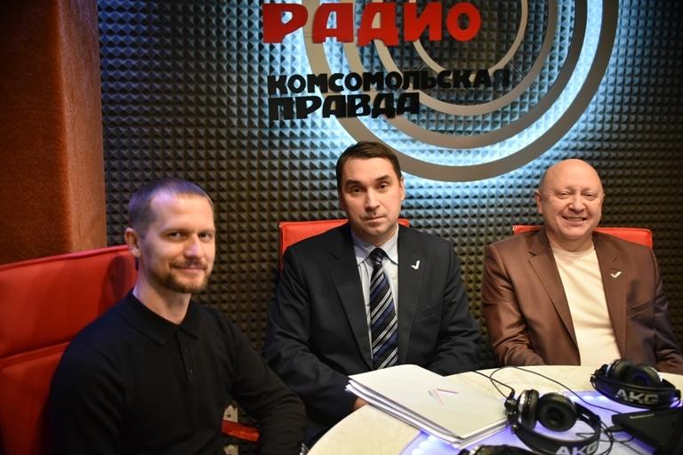 """ОНФ на """"Радио Комсомольская правда""""."""