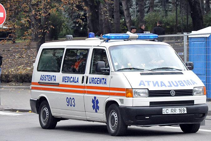 Гражданин Молдовы умер по дороге в больницу.