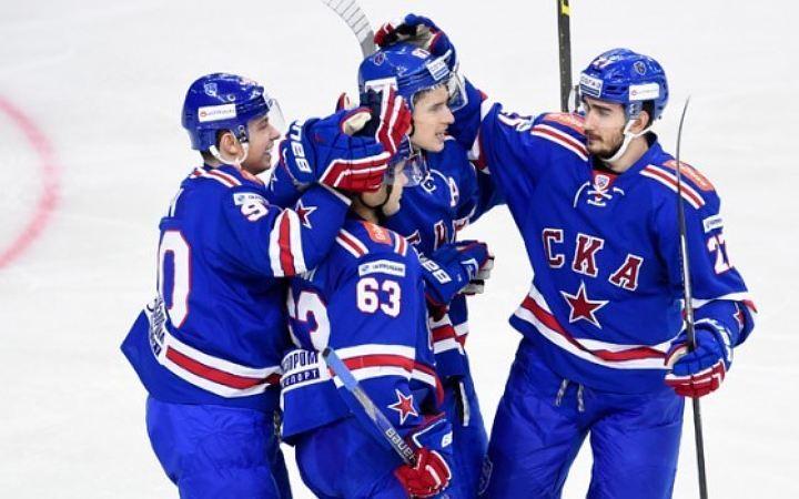 Фото: ХК СКА. Петербургские армейцы вновь одержали убедительную победу