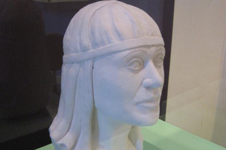 Реконструкцию образа королевы Софии, княжны из Менска, можно увидеть в Национальном музее Дании. Фото: Олег ДЕРНОВИЧ